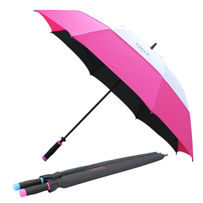 보그 76 이중방풍 컬러 골프 우산