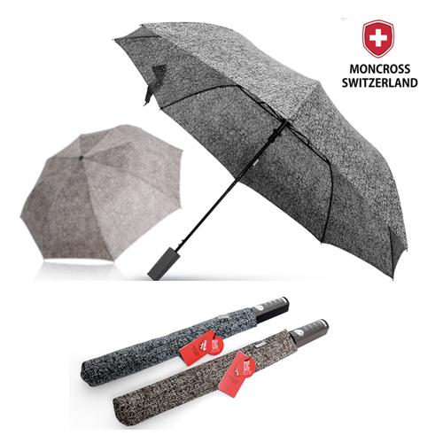 몽크로스 2단 스마트 패턴 반자동 우산