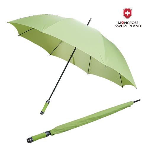몽크로스 75 올화이버 수동 연두색 초경량 골프 우산