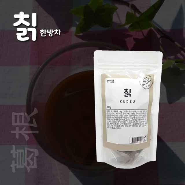 [건이식품]천연한방차-칡 100g