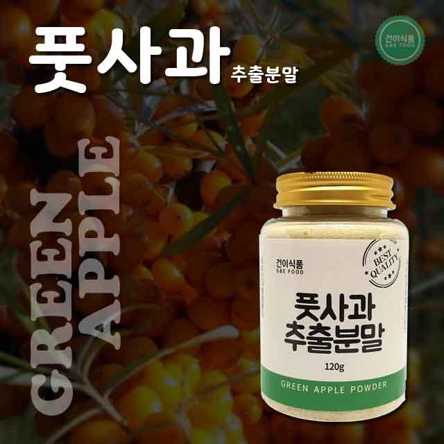 [건이식품]풋사과 120g/병