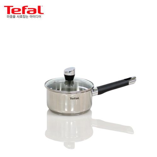 [테팔]인덕션 스텐 에모티온 편수냄비 16cm TFC-EMS6