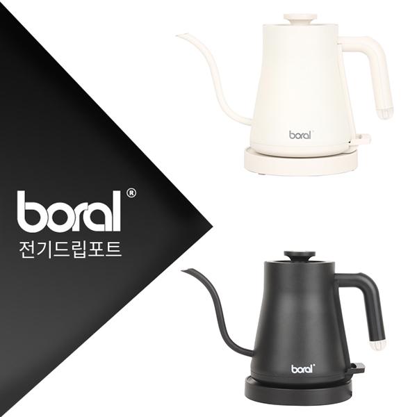 보랄 커피 드립 전기주전자 BR-E2100DK (화이트),  BR-E1000DK(블랙)