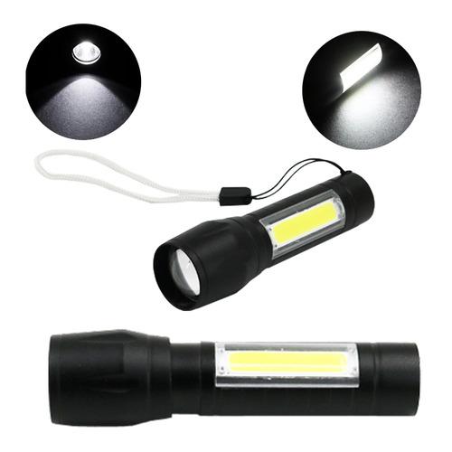 미니줌 COB (아답터 포함) / 미니 LED 충전식 줌 손전등 후레쉬 랜턴 작업등 Q5