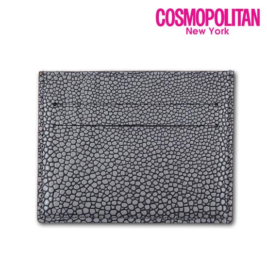 [코스모폴리탄]가오리패턴 카드지갑CPB17WC-L0113