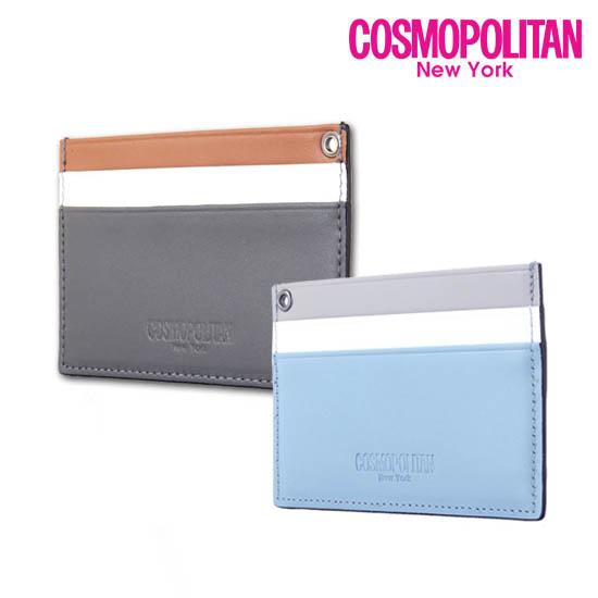 [코스모폴리탄]삼색카드지갑CPB17WC-L0114
