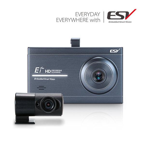 ESV E1 PLUS 블랙박스 HD/HD 16G