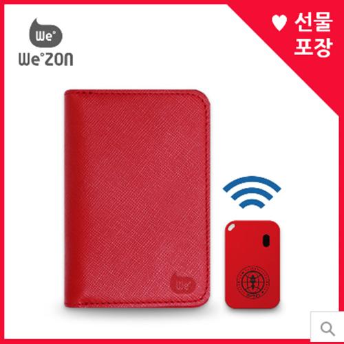 위존 비콘 여권지갑+위존비콘 세트 (분실방지 상품) 위치추적