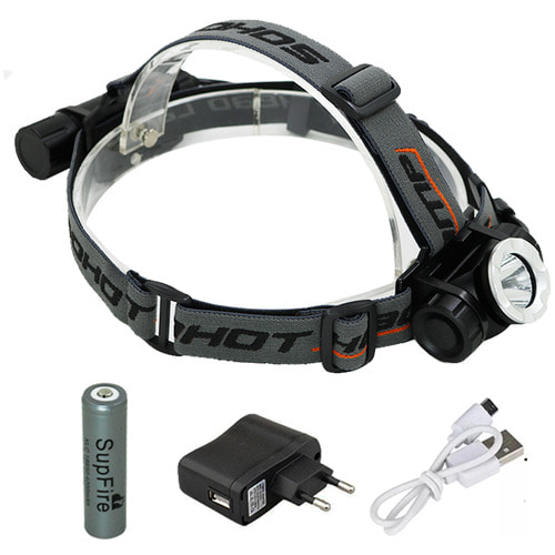 U2 충전식 LED 헤드랜턴 등산 낚시 랜턴 GO30