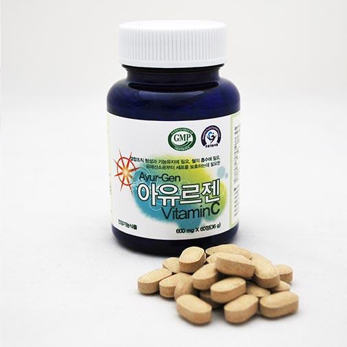 아유르젠 비타민C (600mg x 60정)