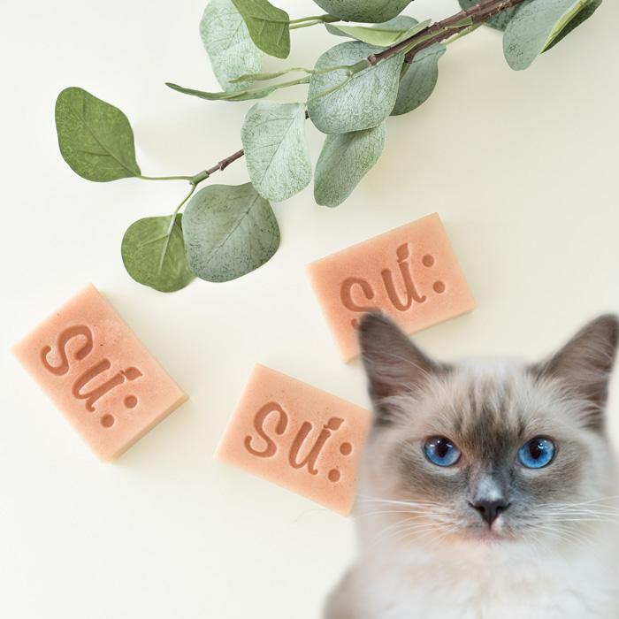 수솝 고양이천연비누 샴푸_핑크캣