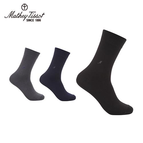 [Mathey-Tissot] 신사 양말 2족세트 블랙,네이비,그레이 택2