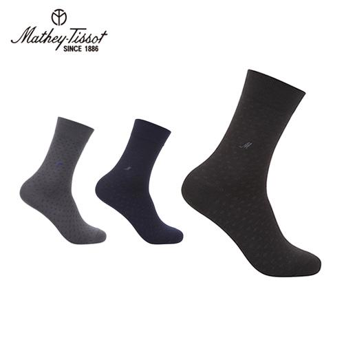 [Mathey-Tissot] 스퀘어 신사 양말 3족세트
