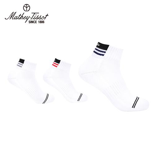 [Mathey-Tissot] 스포츠 골프 양말 3족세트