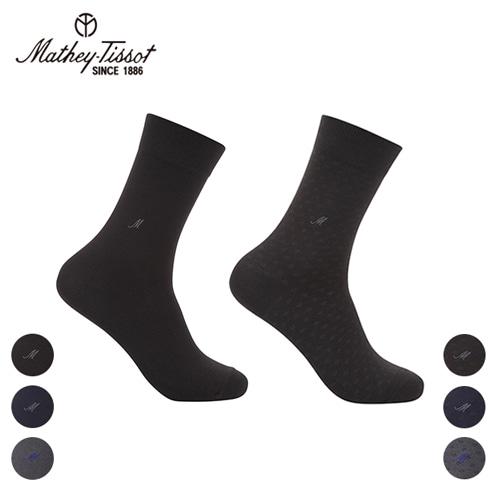 [Mathey-Tissot] 신사 양말 혼합 4족세트 신사(블랙,네이비,그레이) 택2 스퀘어 신사(블랙,네이비,그레이) 택2