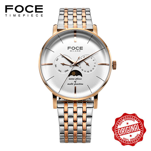 [FOCE]남성 메탈 손목시계 FM1705WRG