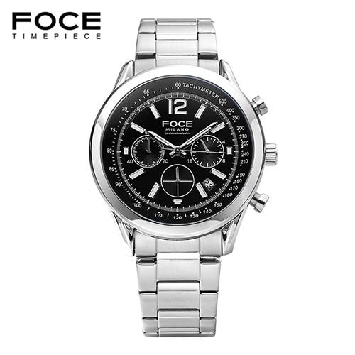 [FOCE]남성 메탈 손목시계 FM7511BK