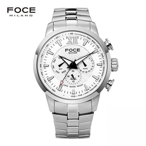 [FOCE]남성 메탈 손목시계 FM914GSM101