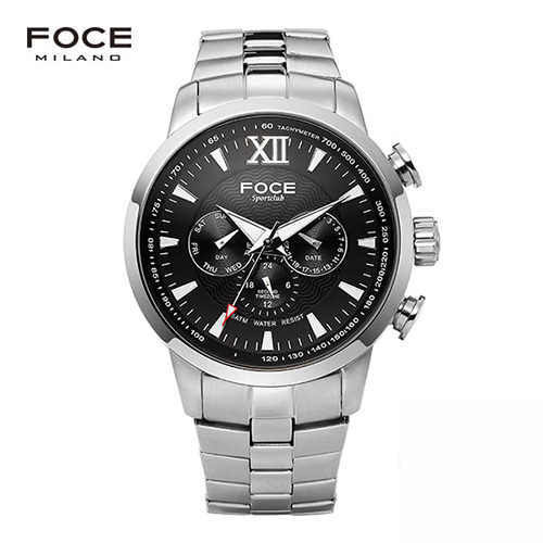 [FOCE]남성 메탈 손목시계 FM914GSM103
