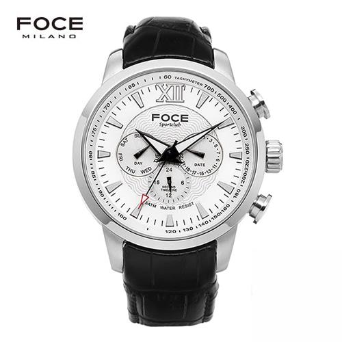 [FOCE]남성 메탈 손목시계 FM914GSL101