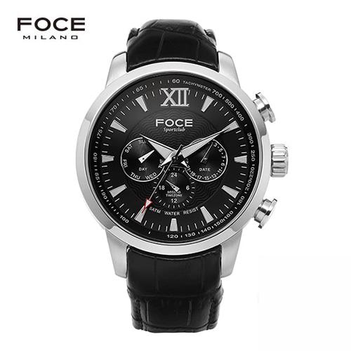 [FOCE]남성 가죽 손목시계 FM914GSL103