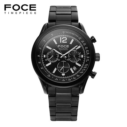 [FOCE]남성 메탈 손목시계 FM7511BBK