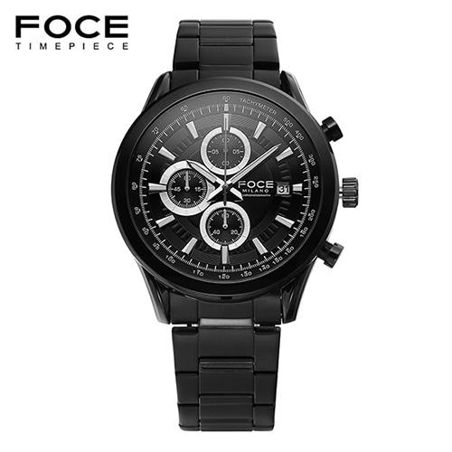 [FOCE]남성 메탈 손목시계 FM7513BBK