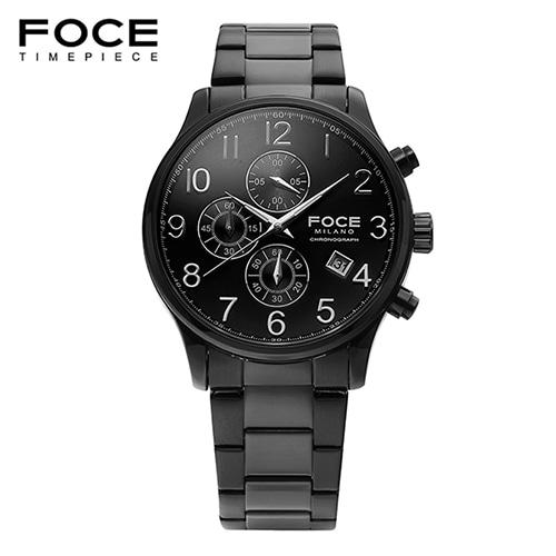 [FOCE]남성 메탈 손목시계 FM7519BBK