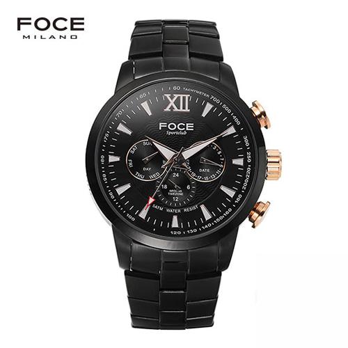 [FOCE]남성 메탈 손목시계 FM914GBM103