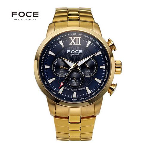 [FOCE]남성 메탈 손목시계 FM914GGM103