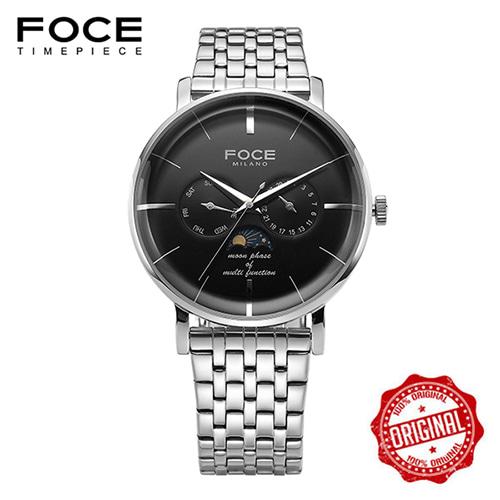 [FOCE]남성 메탈 손목시계 FM1705BK