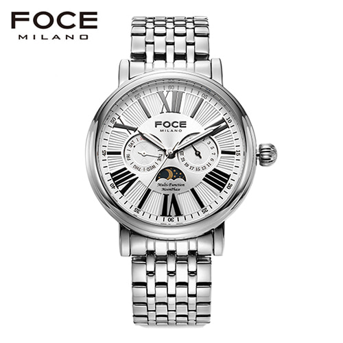 [FOCE]남성 메탈 손목시계 FM1707WH