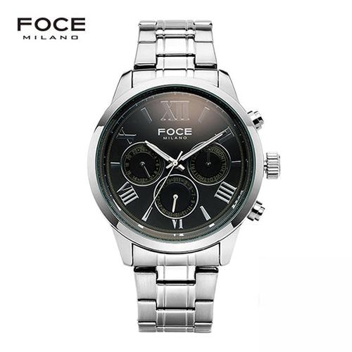[FOCE]남성 메탈 손목시계  FM7501BK
