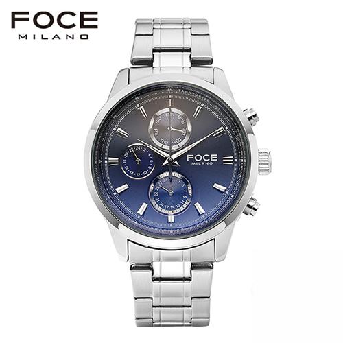 [FOCE]남성 메탈 손목시계 FM7503BU