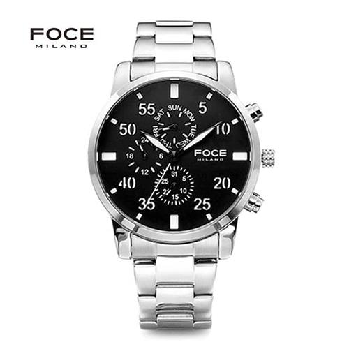 [FOCE]남성 메탈 손목시계 FM1502B1
