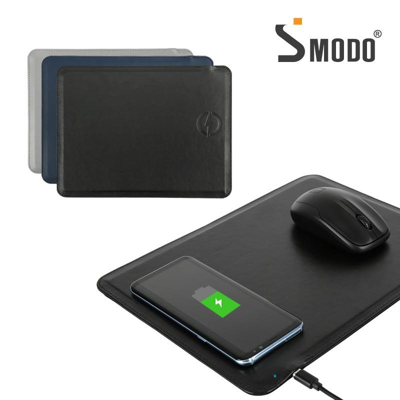 [에스모도] USB 무선 가죽 마우스 패드 SMODO-209