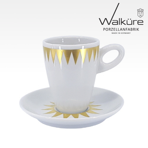 [독일 발퀴레]알타 450/025 아메리카노 커피잔세트_Stella golden
