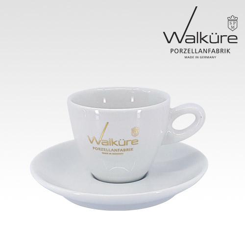 [독일 발퀴레] 알타 450/018 카푸치노 커피잔세트_logo golden