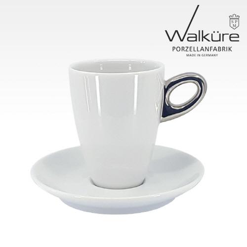 [독일 발퀴레]알타 450/025 아메리카노 커피잔세트_handle platinum