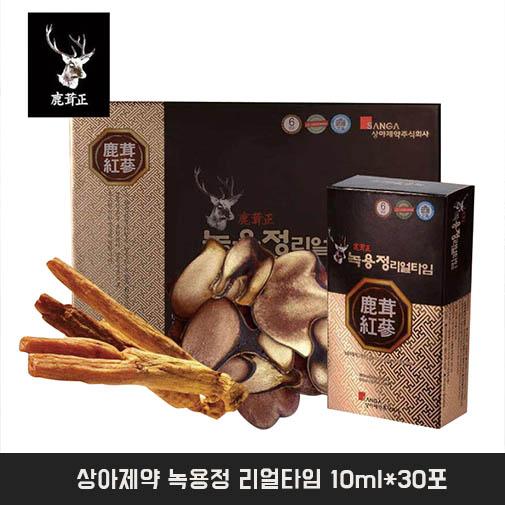 [추천]상아제약 녹용정 리얼타임 10ml*30포