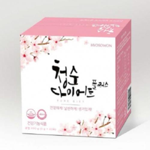 청순다이어트플러스 200g (5g*40포)  /2개이상 구매시 효소비누 증정