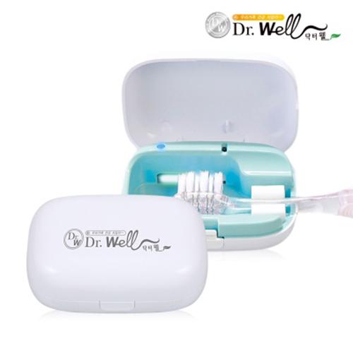 닥터웰 미니 휴대용 충전식 칫솔살균기 DR-160
