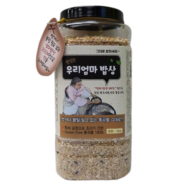 [면세]씻을 필요없는 영양잡곡밥(우리엄마밥상) 2kgX2통