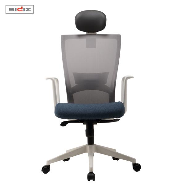 시디즈 투톤 메쉬 의자 NEW T50 LIGHT 화이트쉘 (요추지지대 포함)