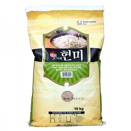 100% 국내산 현미 10kgX2봉지