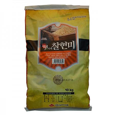 100% 국내산 찰현미  10kgX2봉지