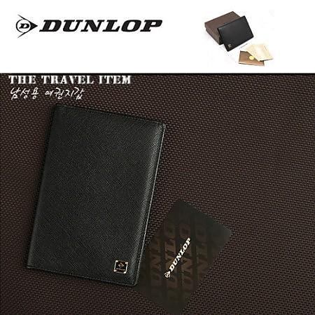[DUNLOP]던롭 송아지가죽 여권지갑 BLACK