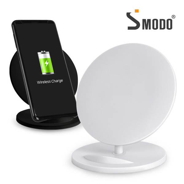 [에스모도] 스마트폰 거치대 겸용 무선충전기 SMODO-205