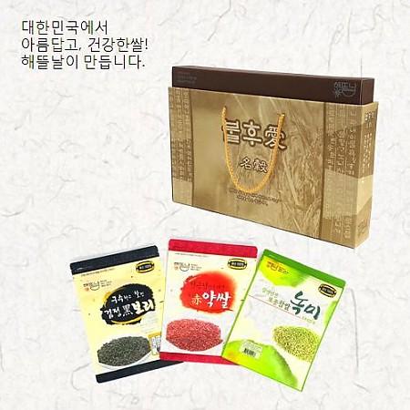[해뜰날]불후애명곡 3호/발아현미+검정보리+붉은약쌀 각 700g