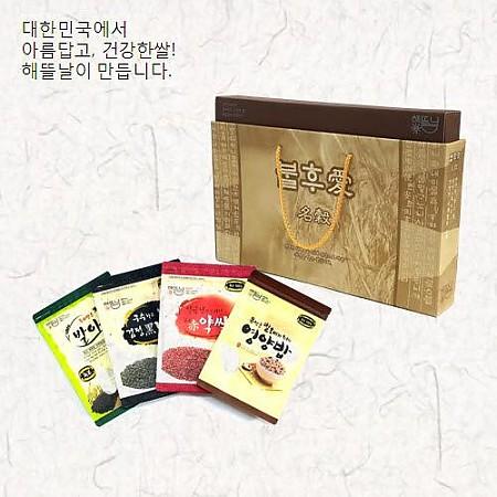 [해뜰날]불후애명곡 4호/발아현미+검정보리+붉은약쌀+영양혼합20곡 각 700g